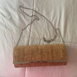 Handbags - Cork Clutch Purse - Never used!